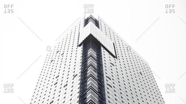 August 23, 2018: Canada, British Columbia, Vancouver, skyscraper