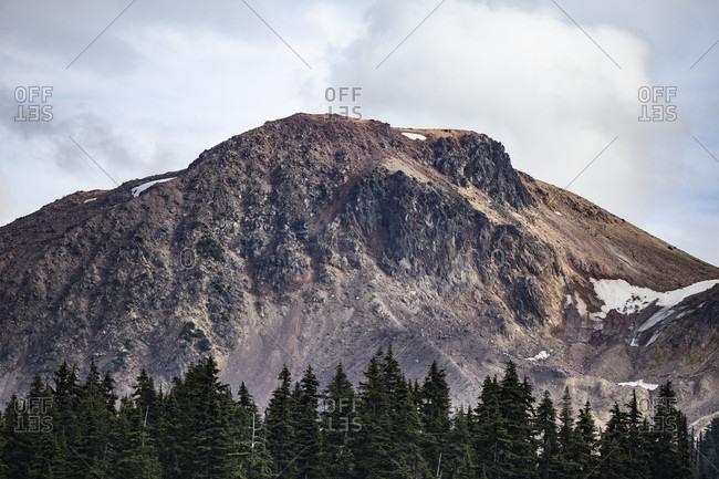 Canada, British Columbia, mountain in Garibaldi Provincial Park