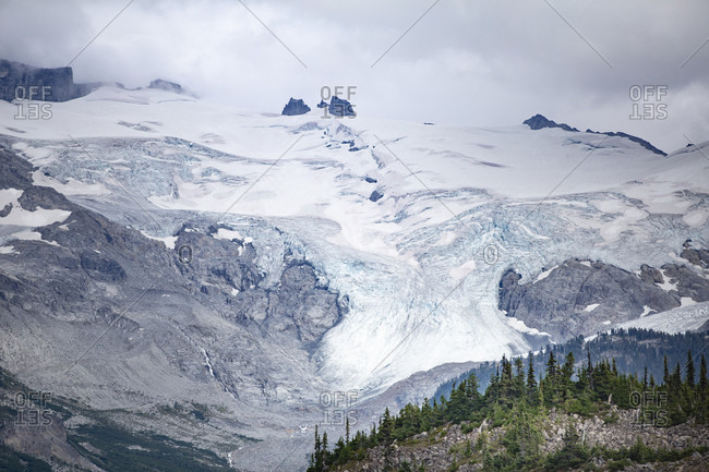 Canada, British Columbia, Garibaldi Provincial Park, glacier