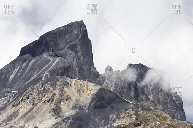 Canada, British Columbia, Garibaldi Provincial Park, Panorama Ridge, Black Tusk