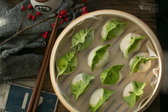 dumplings ready to eat