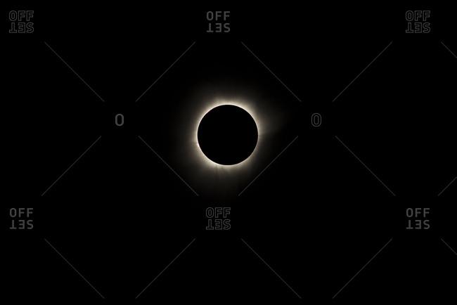 Total lunar eclipse, Palu, Indonesia