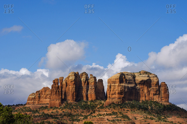 Cathedral Rock, located in the Coconino National Forest; Sedona, Arizona, United States of America