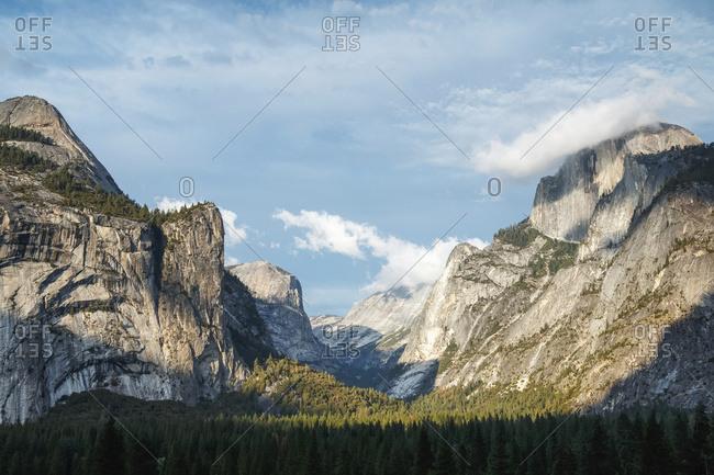 Yosemite Valley landscape, Yosemite National Park; California, United States of America