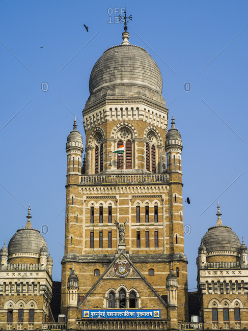 Municipal Corporation Building; Mumbai, Maharashtra, India