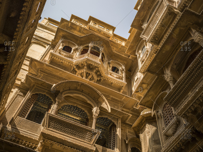 Patwon Ki Haveli; Jaisalmer, Rajasthan, India