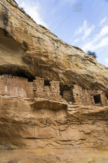 Target ruins, Ancestral Pueblo, up to 1,000 years old, Bears Ears National Monument; Utah, United States of America