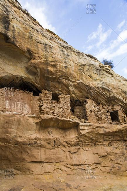 Target ruins, Ancestral Pueblo, up to 1,000 years old, Bears Ears National Monument; Utah, United States of America