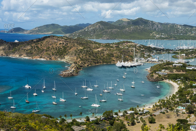 English Harbor; Shirley Heights, Antigua and Barbuda