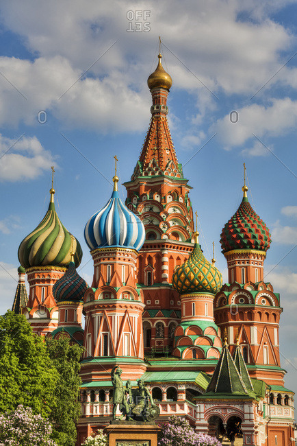 Saint Basil's Cathedral, Red Square; Moscow, Russia