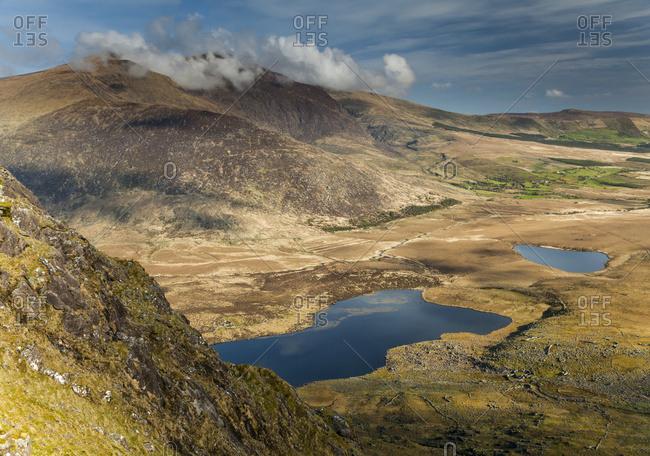 Conor Pass on the Dingle peninsula; County Kerry, Ireland