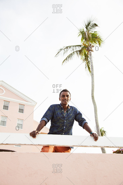 BERMUDA, Hamilton. - September 12, 2015:  Chef Marcus Samuelsson at the Hamilton Princess & Beach Club.