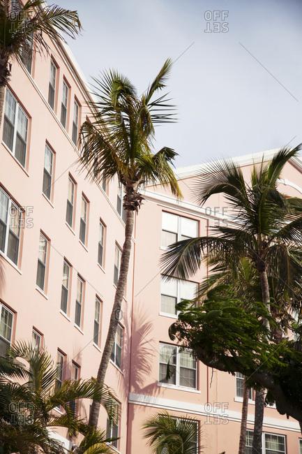 BERMUDA, Hamilton. - September 12, 2015:  The Hamilton Princess & Beach Club Hotel.