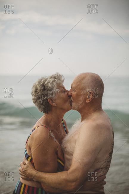 Senior couple together