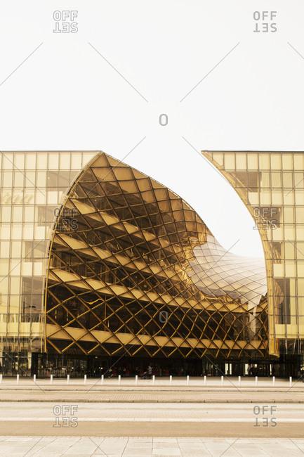 Sweden - November 11, 2014: Modern buildings
