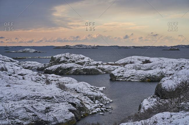 Archipelago in winter