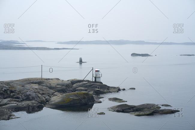 Lighthouse on archipelago