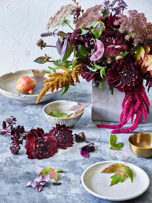 Fall floral arrangement - Offset Collection