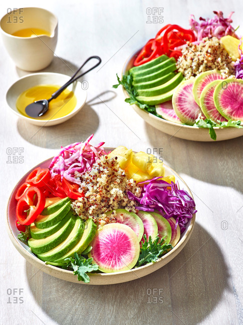 Vibrant healthy salad - Offset Collection