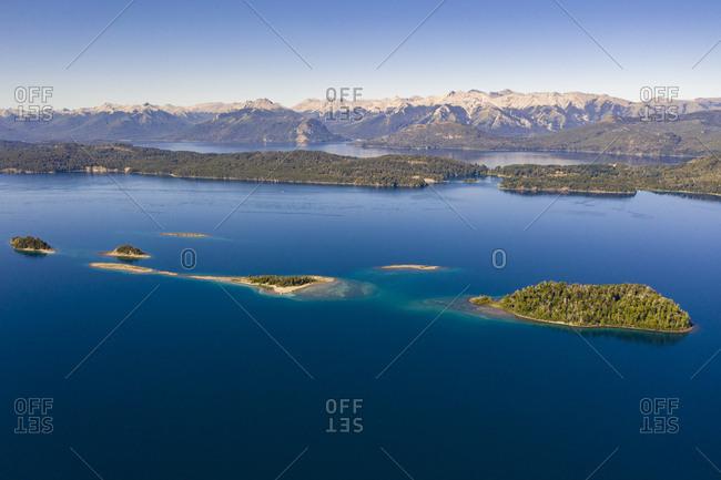 Islands of Nahuei Huapi Lake