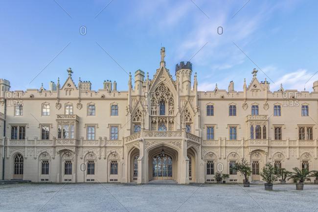 Castle, Lednice, Southern Moravia, Czech Republic,Lednice, Southern Moravia, Czech Republic