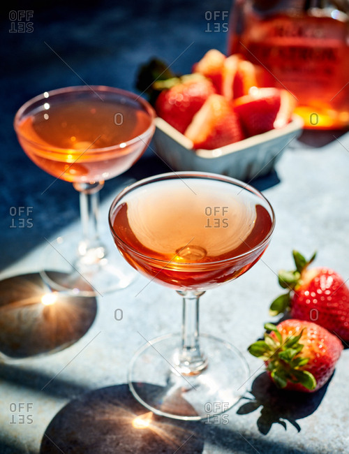 Handcrafted signature cocktails