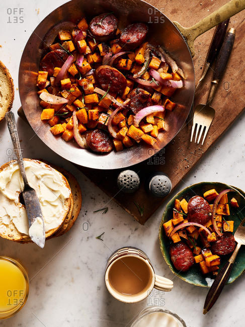 Sweet potato hash - Offset Collection