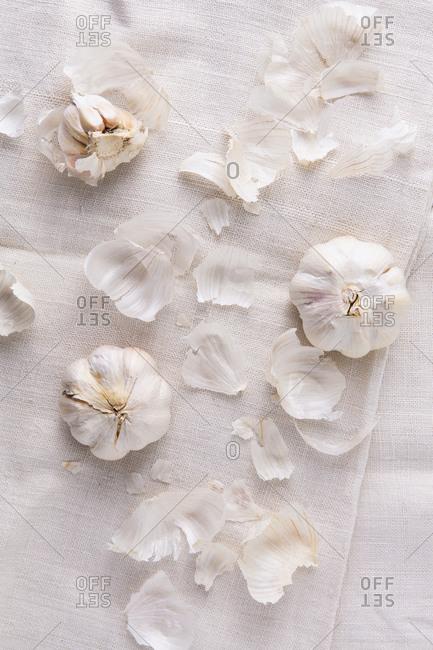 Composition of fresh garlic