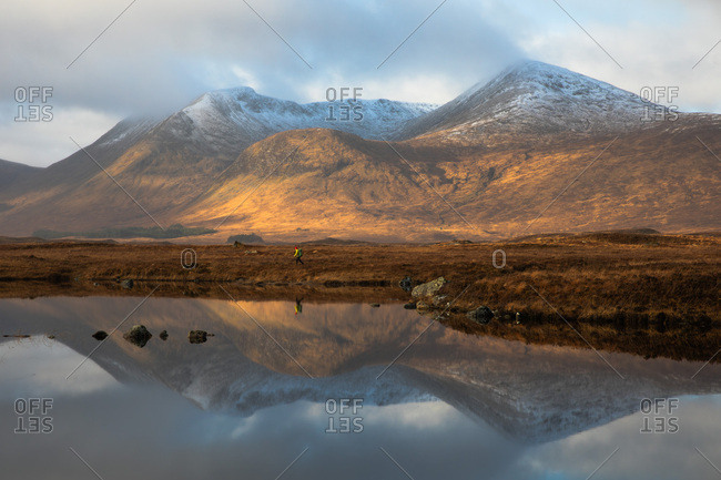Reflections of the loch