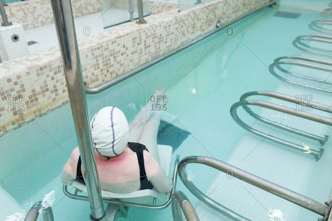Baths in Lamalou-les-Bains France - Offset
