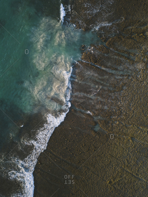 Aerial view of  wave, Sumbawa, Indonesia