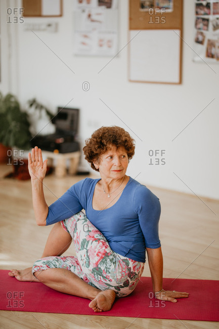 68 Years Old Yoga Master
