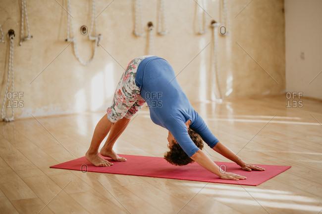 Yoga Asana - Down Facing Dog
