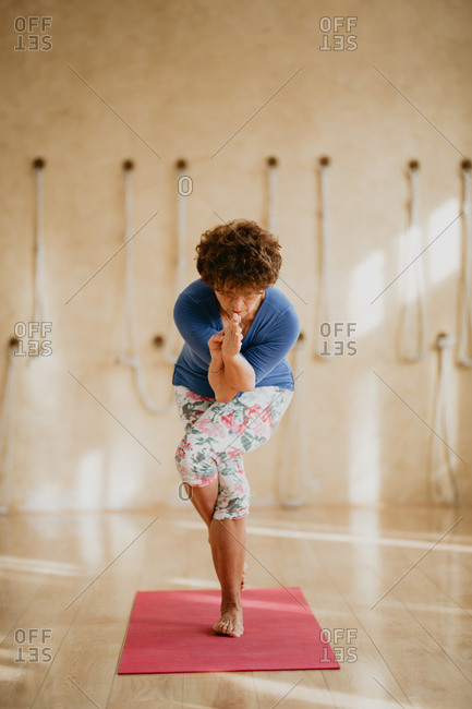 A 68 years old yoga master