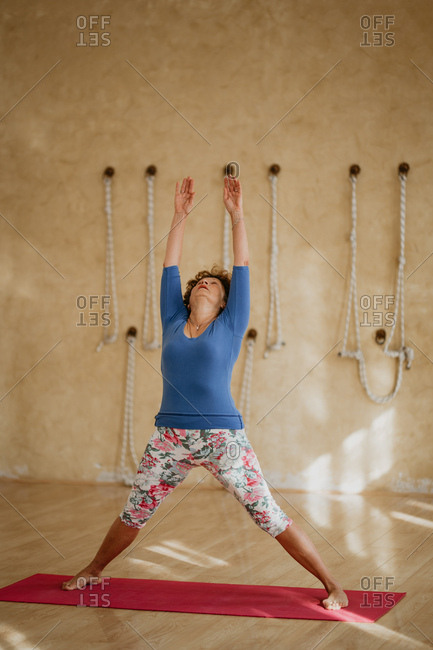 68 Years Old Woman Practicing Healthy Lifestyle