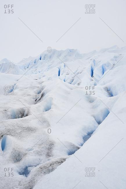 Argentina- Patagonia- Glacier details in Perito Moreno Glacier