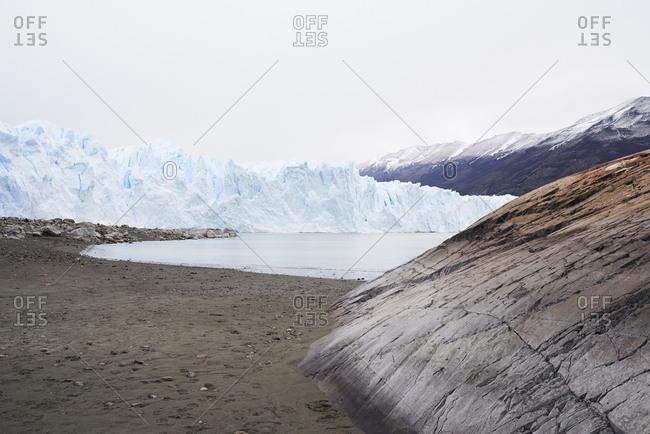 Argentina- Patagonia- Landscape in Perito Moreno Glacier