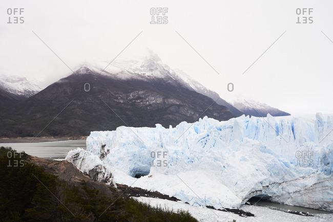 Argentina- Patagonia- Broken ice from glacier in Perito Moreno Glacier