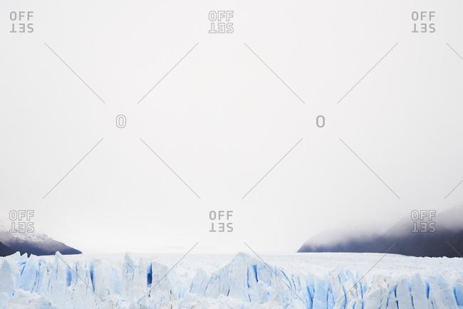 Argentina- Patagonia- view of Perito Moreno Glacier