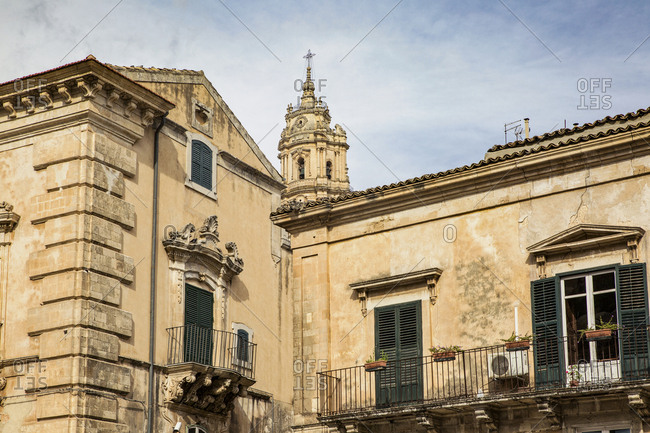 September 26, 2017: Italy- Sicily- Modica- church San Giorgio