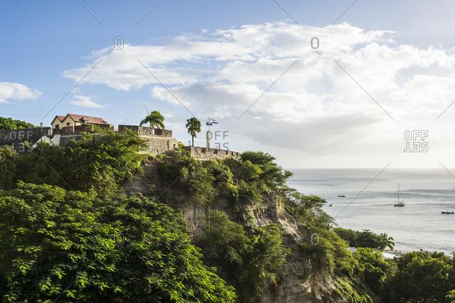 Caribbean- Netherland Antilles- St. Eustatius- Oranjestad- Fort Oranje