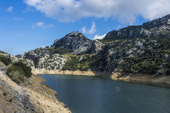 Spain- Baleares- Mallorca- Gorge Blau- artificial reservoir