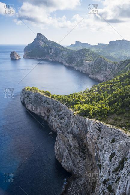 Spain- Baleares- Mallorca- Cap Formentor-