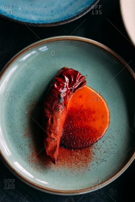 Stuffed paprika dish - Offset Collection