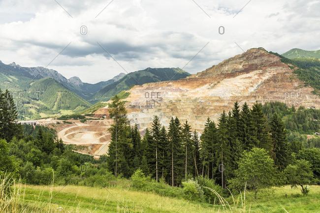 Austria- Styria- Erzberg