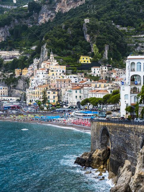 June 13, 2016: Italy- Campania- Amalfi Coast- Sorrento Peninsula- Amalfi