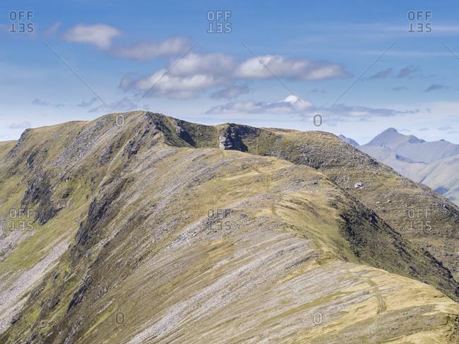 Great Britain- Scotland- Glen Shiel- South Shiel Ridge