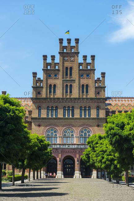 May 31, 2018: Unesco world heritage sight University of Chernivtsi- Chernivtsi- Ukraine