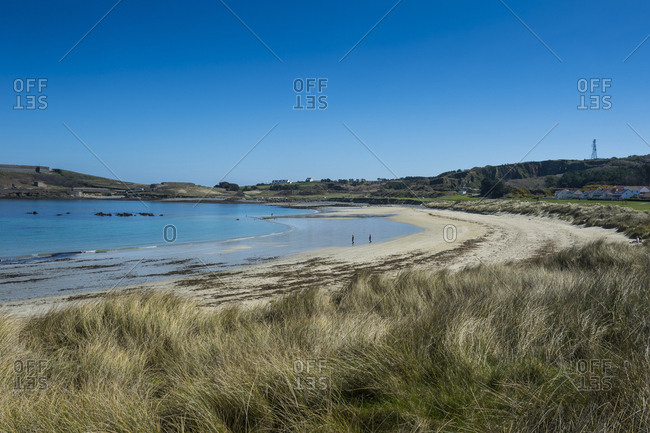 United Kingdom- Channel Islands- Alderney- Braye bay