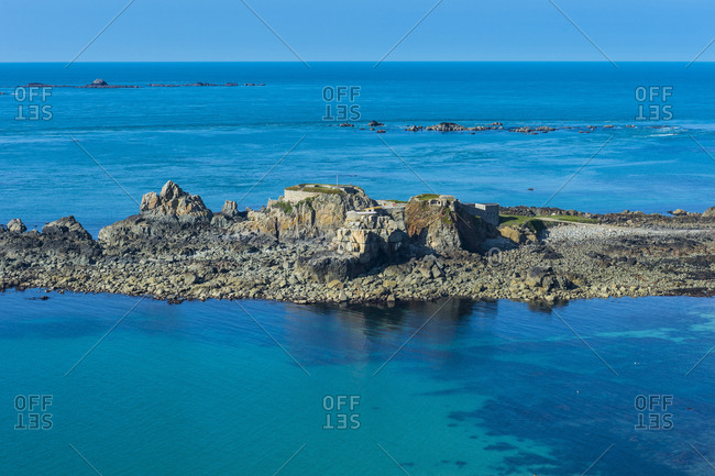 United Kingdom- Channel Islands- Alderney- Fort Clonque